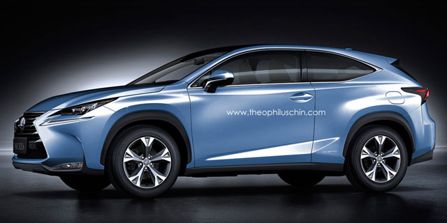 Lexus NX Three Door Crossover