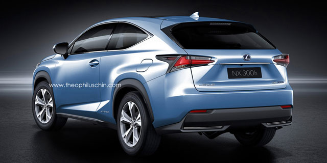 Three Door Lexus NX