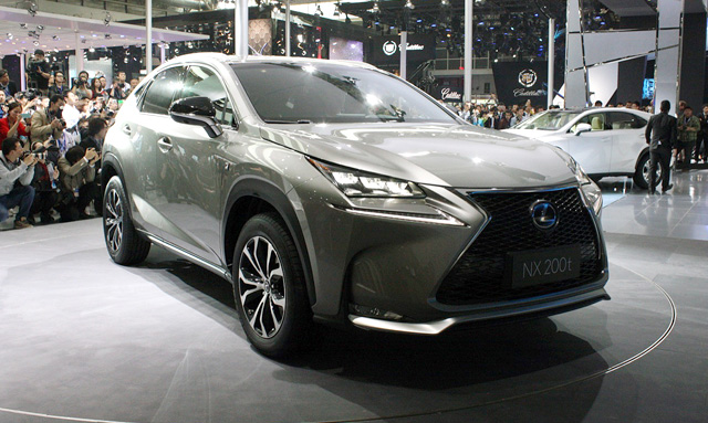 Lexus NX Live Photos from NYC and Beijing