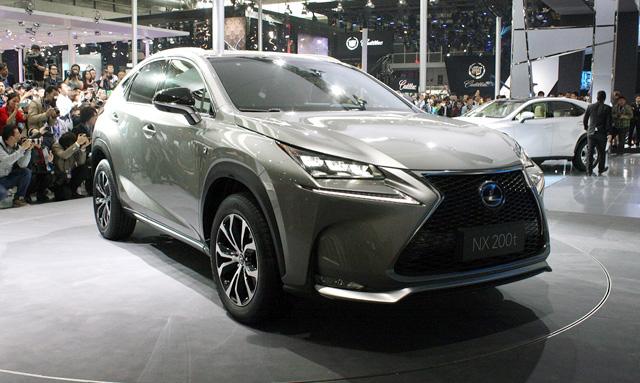 Lexus NX at the Beijing Motor Show
