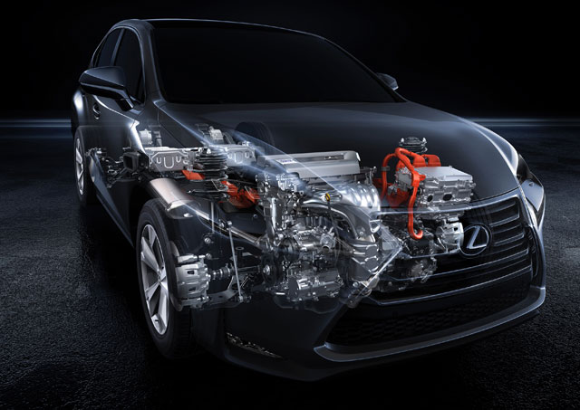 Lexus Nx Hybrid Engine
