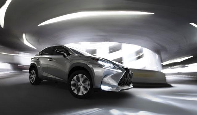 Lexus NX Responsive