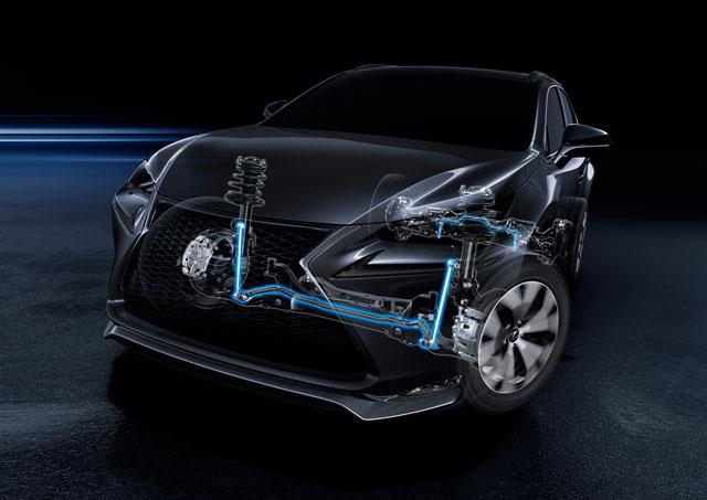 Lexus NX Shock Absorbers