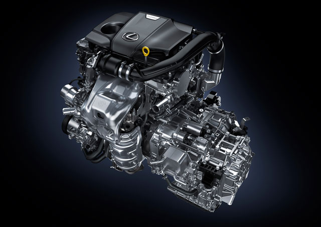 Lexus NX Turbo Engine 2