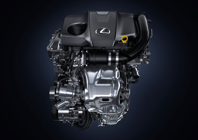 Lexus NX Turbo Engine
