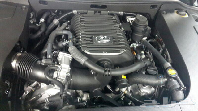 Lexus LX 570 Supercharged Engine