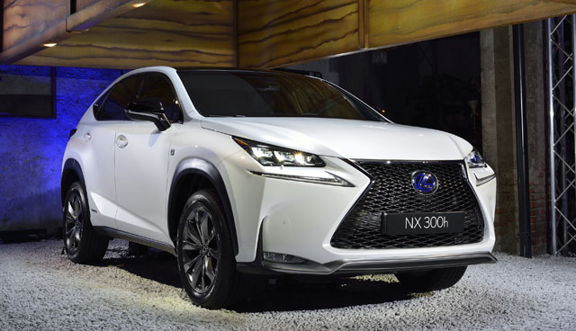 Lexus NX at the Milan Design Week