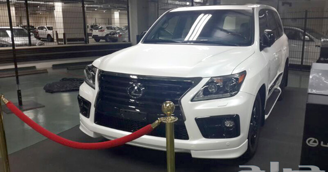 Supercharged Lexus LX 570