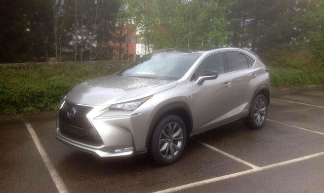 Lexus NX F SPORT UK Front