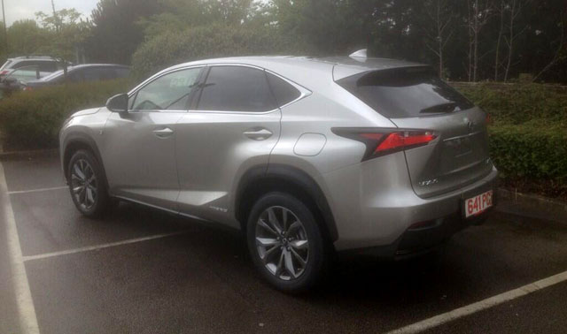 Lexus NX F SPORT UK Rear