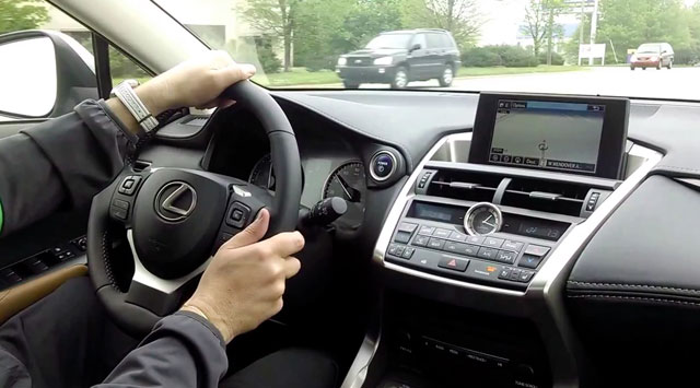 Lexus NX Driving Footage