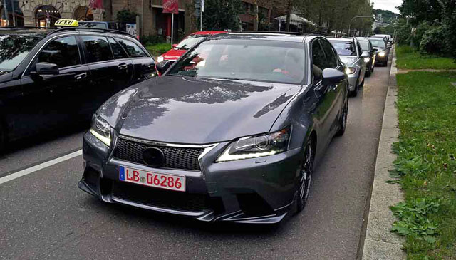 Lexus GS F Prototype Front