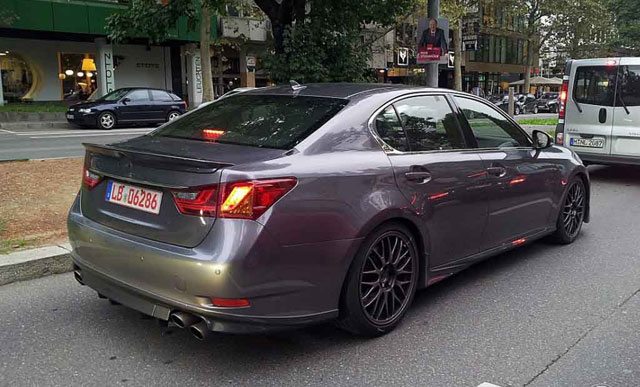 Lexus GS F Prototype Rear