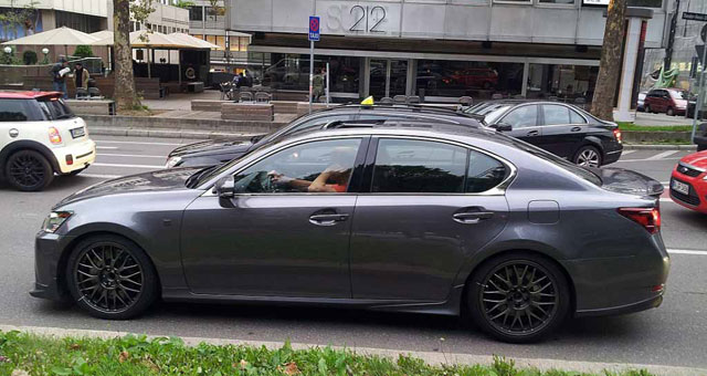 Lexus GS F Prototype Side