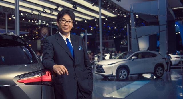 Lexus Chief Engineer Takeaki Kato