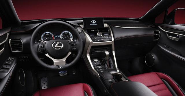 Lexus NX Interior Clari-fi