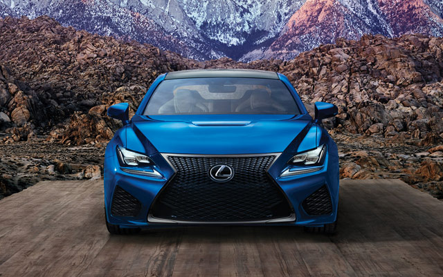 Lexus RC F Front Mountain