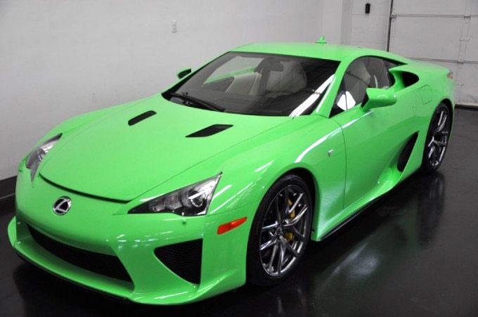 Lexus LFA Fresh Green