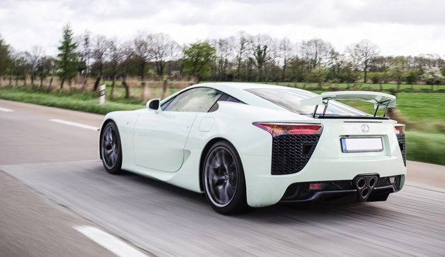 Lexus LFA Mint Green