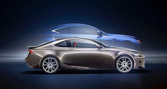 Lexus RC F & LF-CC