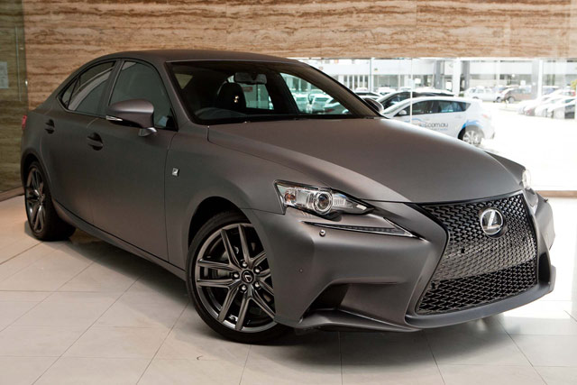 Lexus IS F SPORT Matte Gray