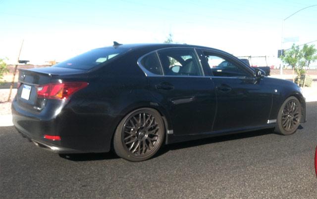 Lexus GS F Side Profile 2