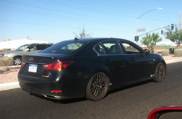 Lexus GS F Prototype Side