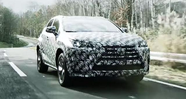 Lexus NX Driving Dynamics
