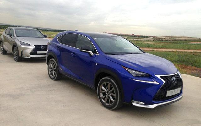 Lexus NX Ultrasonic Blue
