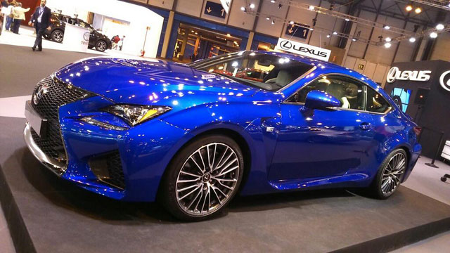 Lexus RC F Wheel Design