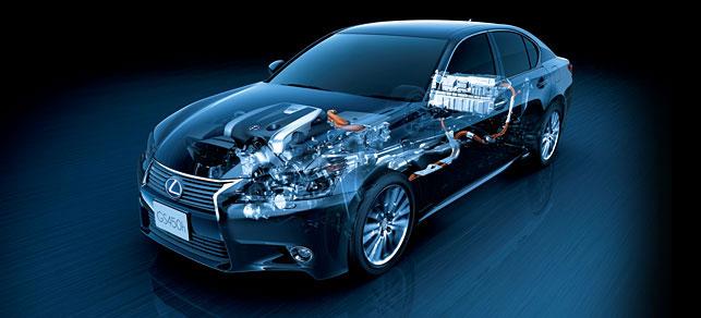 Lexus GS 450h Hybrid Drive