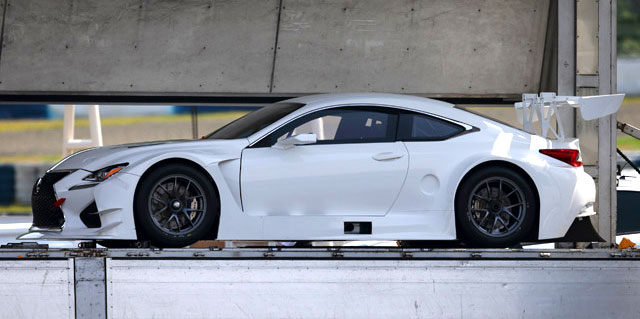 Lexus Rc F Race Car Spotted In Japan Lexus Enthusiast