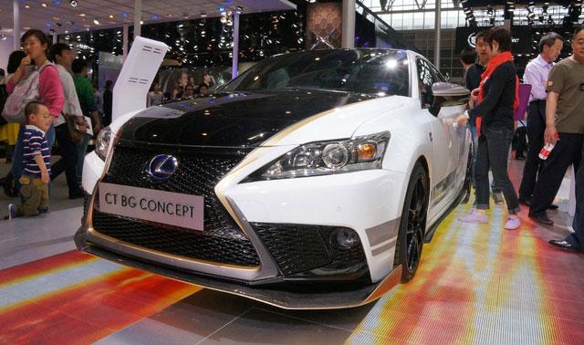 Lexus CT BG Concept Beijing