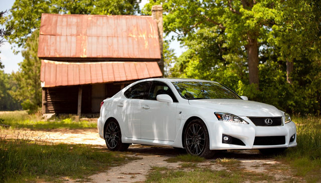 Lexus IS F Dan Neil