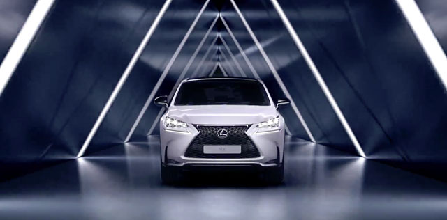 Lexus NX Europe New Video