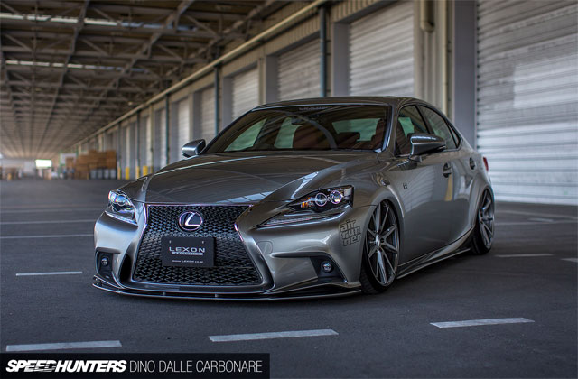 Slammed Lexus IS F SPORT From Japanese Tuner Lexon