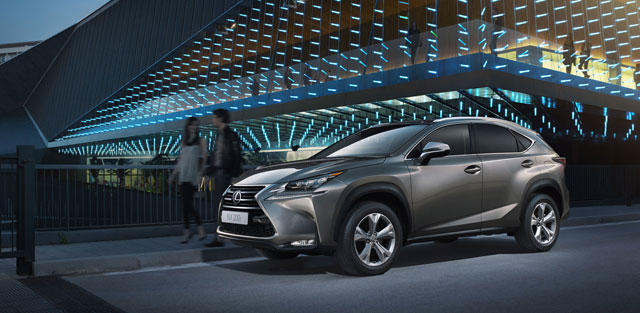 Lexus NX Official Europe Shots
