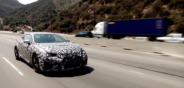 Lexus RC F Development Interview