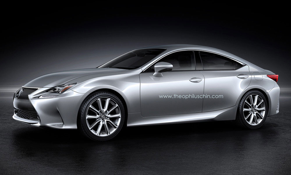 Lexus RC GT Front