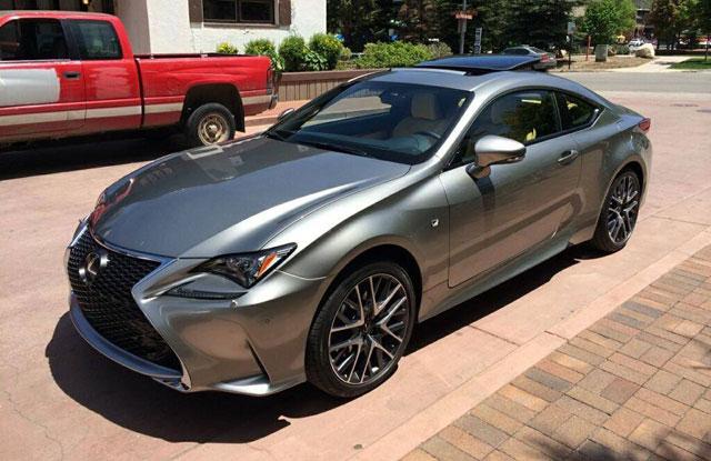Lexus RC F SPORT in Atomic Silver