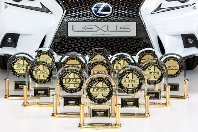 Lexus UK JD Power