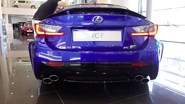 Lexus RC F Exhaust Note
