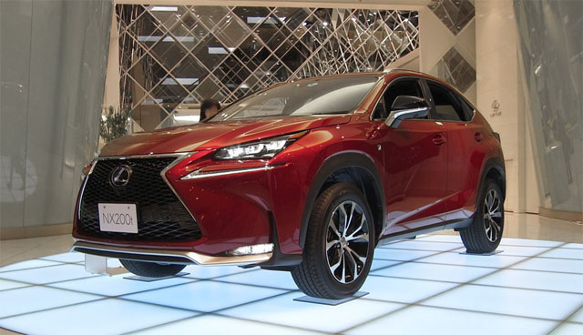 Lexus NX in Red