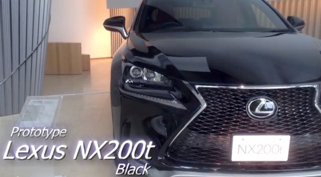 Lexus NX 200t F SPORT in Black