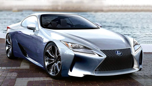 Lexus SC Rendering Holiday Auto