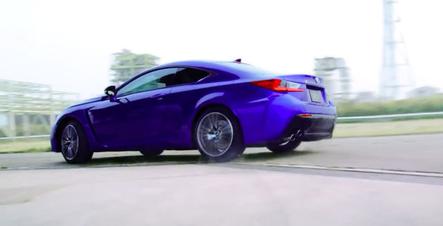 Lexus RC F on the Track