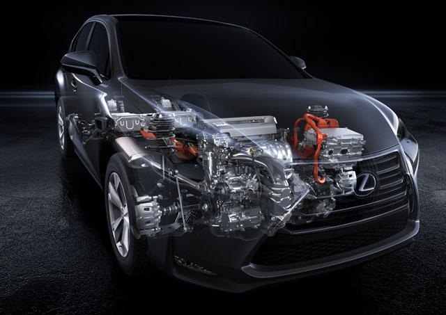 Lexus NX Engine Options