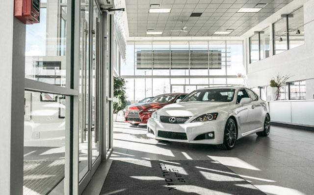 Lexus of Royal Oak Interior