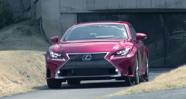 Lexus RC Key Person Interview