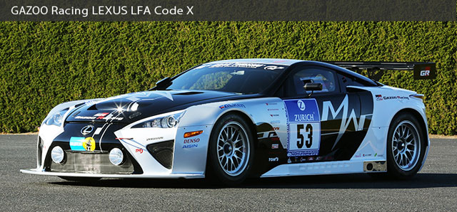 Lexus LFA Code X Nürburgring 24h